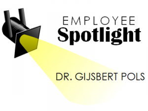 Employee Spotlight Gijsbert