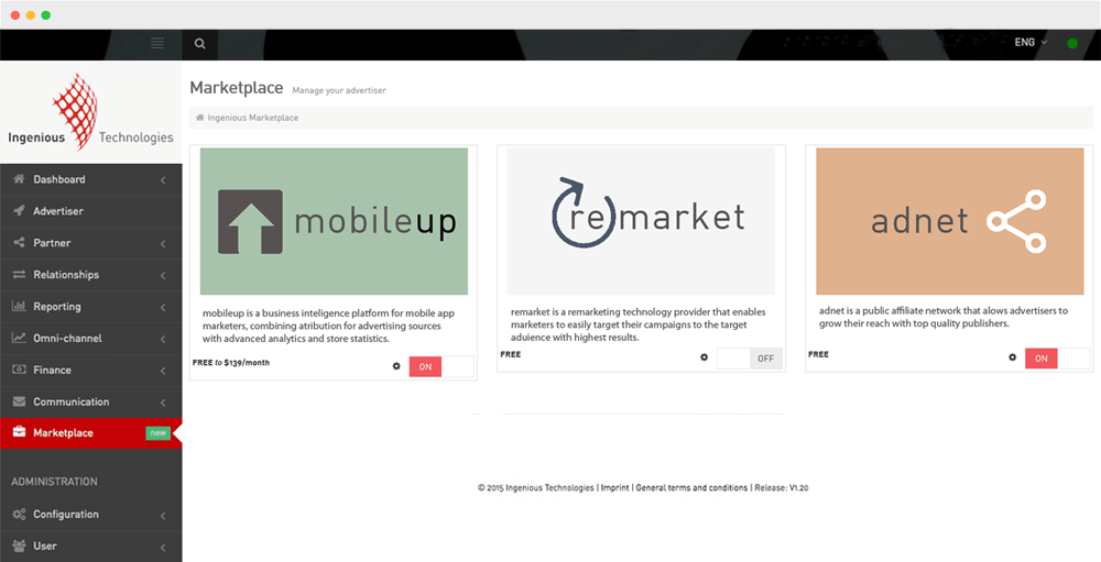 marketplace ui