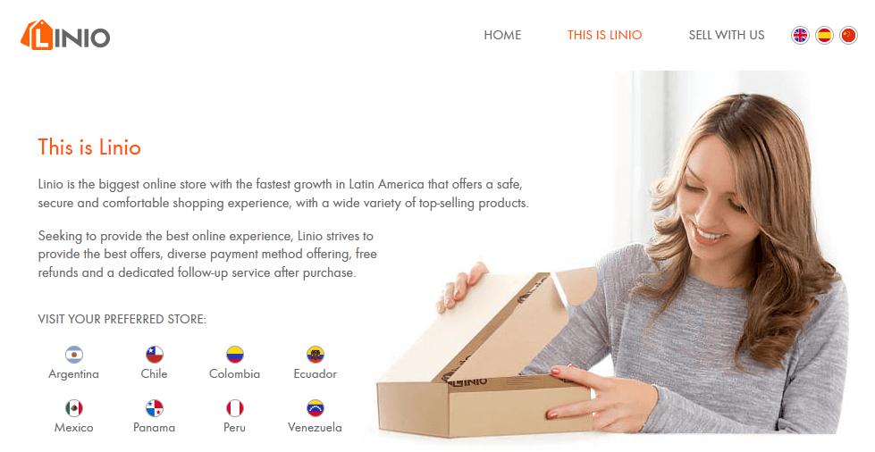 Linio Website