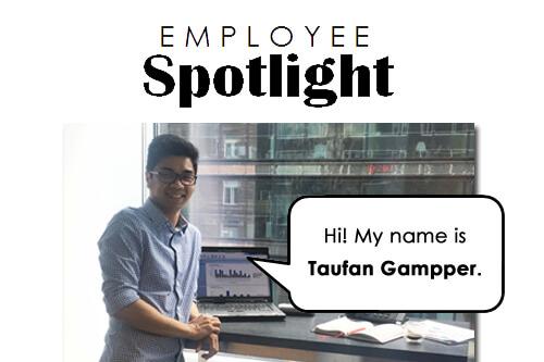 Employee Spotlight design Taufan