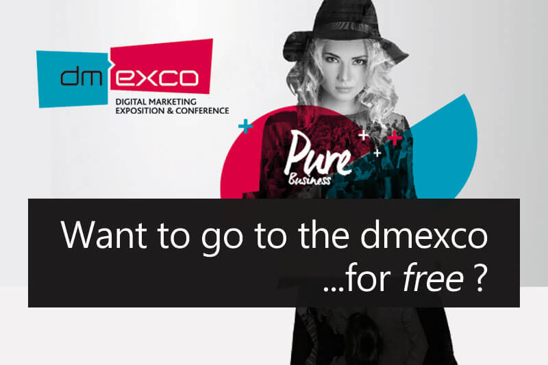 dmexco free tickets