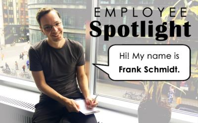 Employee Spotlight: Frank Schmidt