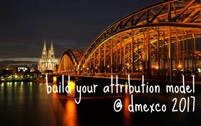 """dmexco 2017: Free """"Build Your Attribution Model"""" Sessions"""