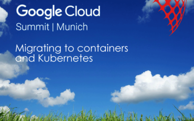 Visit our talk at Google Cloud Summit in Munich
