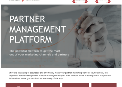 Partner Management Platform