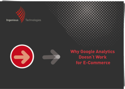 Why Google Analytics Doesn't Work for E-Commerce
