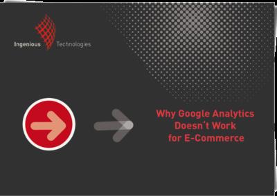 Warum Google Analytics für E-commerce nicht funktioniert